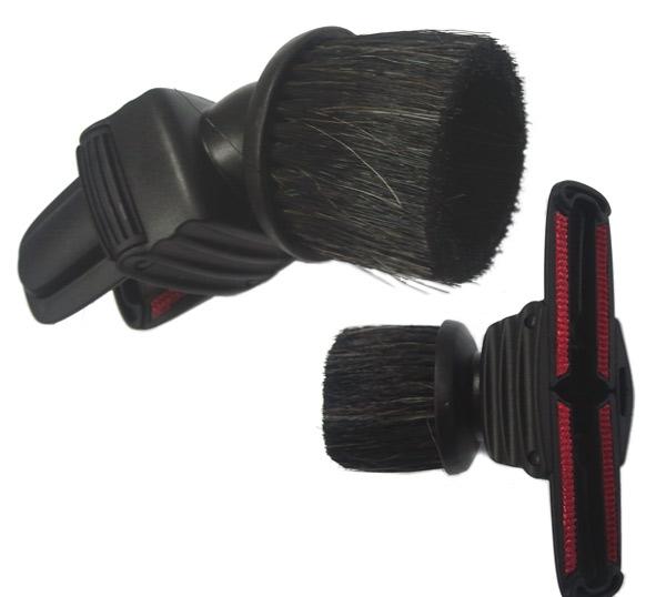1099100057 - Насадка комбинированная, ZE030, черного цвета на круглый диаметр трубы 32 мм к пылесосам Electrolux