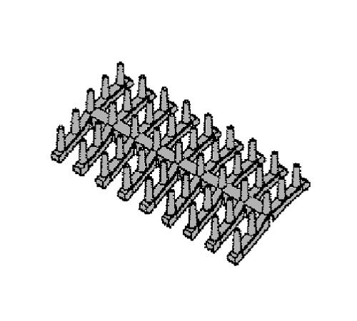 1119349312 - Держатель чашек к посудомоечным машинам Electrolux и Ikea