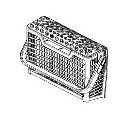 1170388100 - Корзина для вилок к посудомоечной машине Electrolux