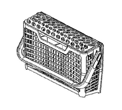 1170388217 - Корзина для столовых приборов к посудомоечным машинам Electrolux, AEG, Zanussi, Ikea