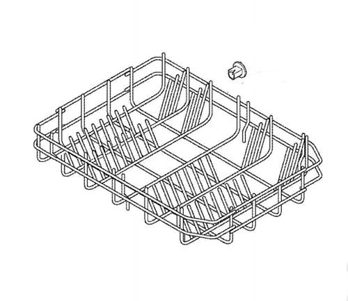 1173865575 - Корзина нижняя к посудомоечным машинам Electrolux, AEG, Zanussi, IKEA