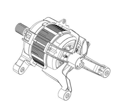 1240222016 - Мотор к стиральным машинам Electrolux, Zanussi