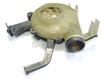 1242580304 - Вентилятор сушки к стиральным машинам Electrolux, AEG, Zanussi