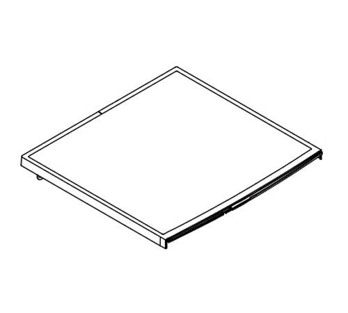 140025652078 - Крышка верхняя к стиральным машинам AEG, Electrolux, Zanussi