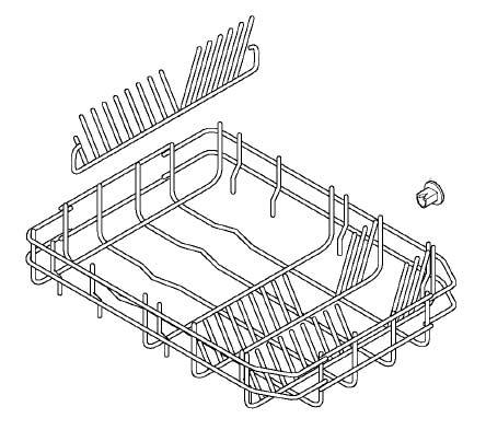 1529704114 - Корзина нижняя в посудомоечную машину Electrolux