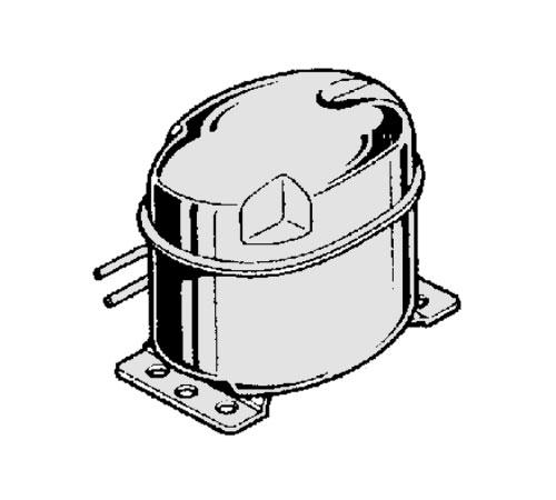 2425087844 - Компрессор HQT80FSH к холодильникам AEG и Electrolux