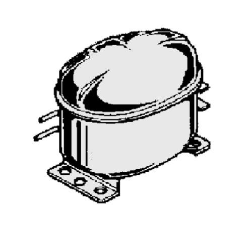 2425088495 - Компрессор HXK12AA к холодильникам AEG, Electrolux, Zanussi, Ikea