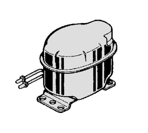 2425108293 - Компрессор HVY67AA к холодильникам Electrolux, Zanussi