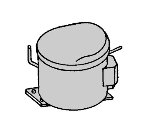 2425751019 - Компрессор HMK95AA к холодильникам AEG, Electrolux, Zanussi, Ikea
