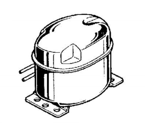 2425801236 - Компрессор к холодильникам AEG, Electrolux, Zanussi
