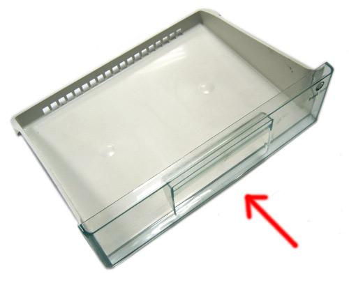 2426234015 - Крышка верхнего ящика в морозильную камеру к холодильникам Electrolux