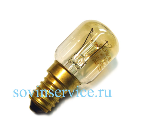 3117943005 - Лампа галогеновая 25W Т25 в духовые шкафы Electrolux, AEG, Zanusii, Ikea