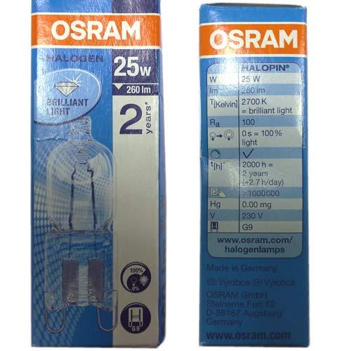 3156927026 - Лампа галогеновая 25W 230V к плитам Electrolux, AEG, Zanussi