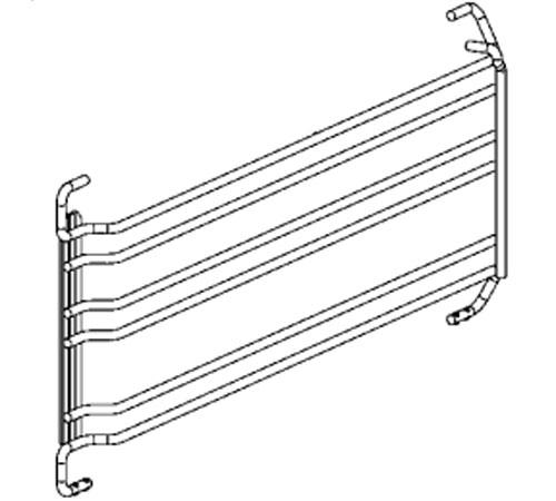 3156955027 - Направляющая духовки левая к духовым шкафам AEG и Electrolux
