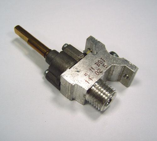 3429042355 - Кран газовый к плитам Electrolux и Zanussi