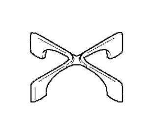 3546505029 - Крестовина конфорки к газовым поверхностям Electrolux