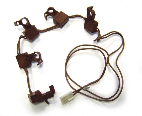 3570571020 - Контактная группа (комплект переключателей) к плитам Electrolux, Zanussi