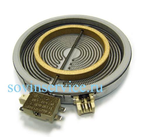 3740754217 - Элемент нагревательный (конфорка)  D120/180 к электроплитам AEG, Electrolux, Zanussi