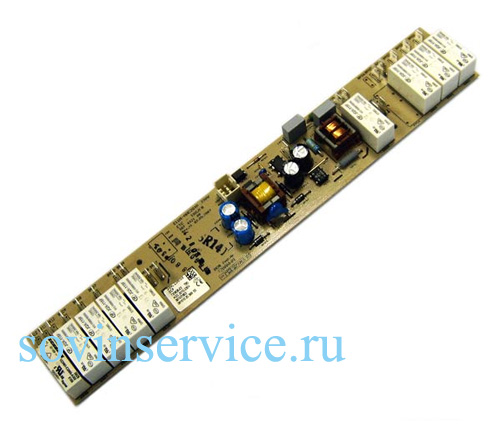 3875726238 - Плата силовая к электрическим варочным поверхностям Electrolux, Zanussi, AEG, Ikea