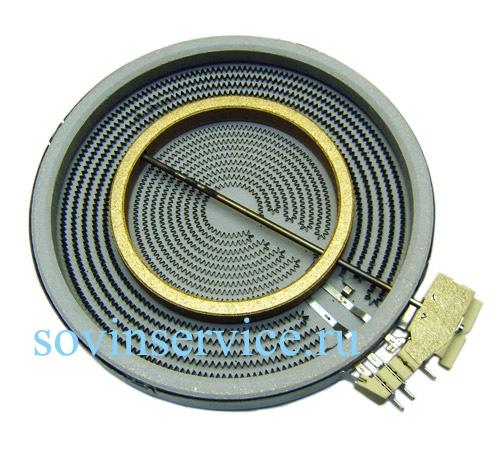 3890806213 - Элемент нагревательный (конфорка)  D120/175/210, 2  2200/750 W к электрическим варочным поверхностям Electrolux