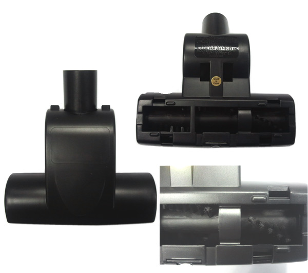 4055010393 - Щетка турбо- mini черного цвета, на круглый диаметр трубы 32 мм к пылесосам Electrolux, Zanussi