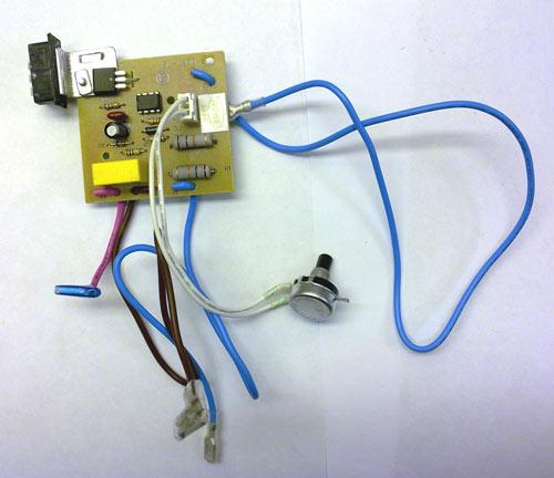 4055182713 - Плата электронная (модуль)  к пылесосам Electrolux, AEG