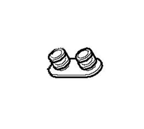 4055260790 - Держатель колес (4 шт.) к посудомоечным машинам AEG, Electrolux, Zanussi, Ikea