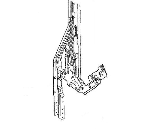 4055350963 - Петля двери (левая  правая) к посудомоечным машинам Electrolux, AEG, Zanussi, Ikea