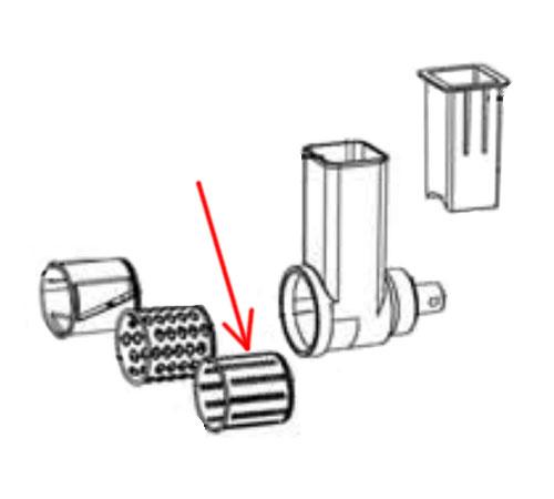 4055396370 - Насадка - мелкая терка к кухонным комбайнам AEG и Electrolux