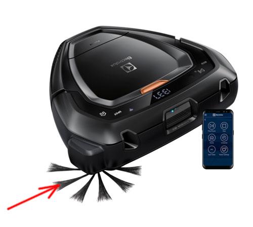 4060001049 - Насадка-щетка боковая к пылесосам-роботам AEG и Electrolux