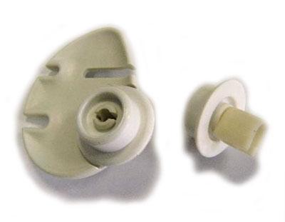 1522825007 - Фиксатор колеса нижней корзины с держателем,  левый, к посудомоечным машинам AEG, Electrolux