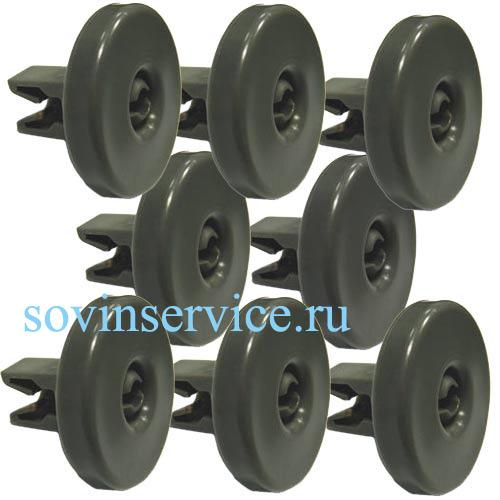 50286965004 - Колесико (8 шт.) нижней корзины к посудомоечным машинам Electrolux, AEG, Zanussi