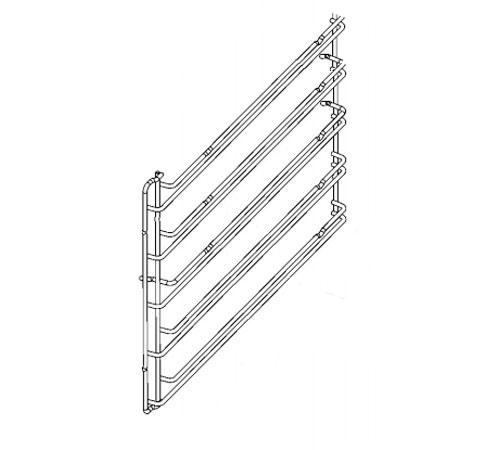 5615313029 - Направляющая левая к духовым шкафам Electrolux, AEG, Zanussi, Ikea