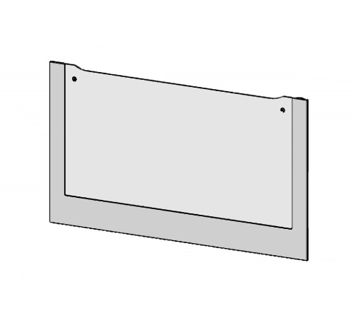 5616264577 - Стекло внешнее 594х327мм к духовкам Ikea KULINARISK