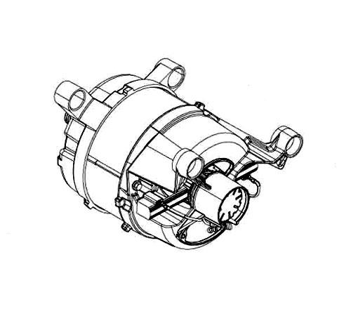 8080647012 - Мотор к стиральным машинам AEG, Electrolux, Zanussi, Ikea