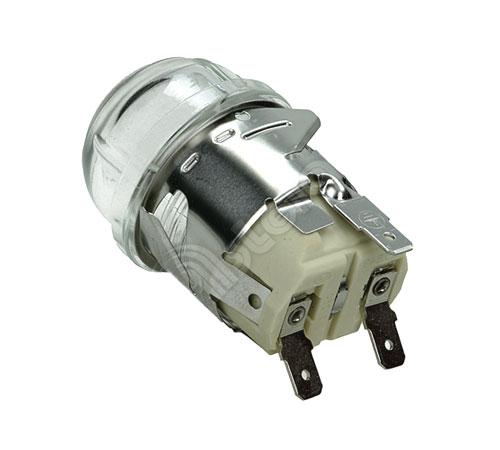 8087690023 - Лампа галогеновая G9 40W 230V в сборе с патроном к духовкам AEG, Electrolux, Zanussi, Ikea