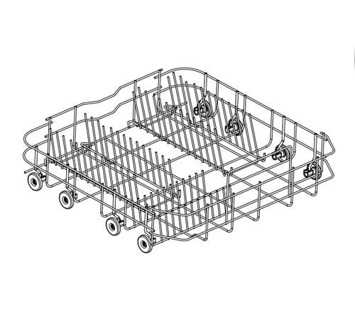 8090030050 - Корзина нижняя к посудомоечным машинам AEG, Electrolux, Zanussi, Ikea