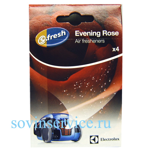 9001677765 - Ароматизатор для пылесоса ES RO Evning Rose вечерняя роза (4 пакетика) Electrolux