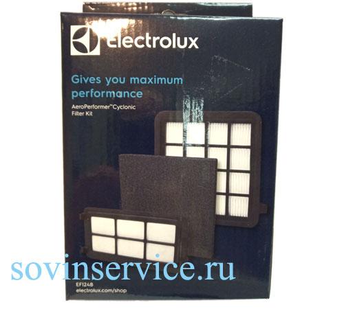 9001683060 - Фильтры (конплект) EF124B к пылесосам Electrolux Fits AeroPerformer Cyclonic (99 series)