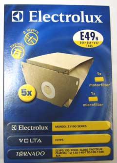 9001955799 - Мешки бумажные Е49N (5 шт+1+1)
