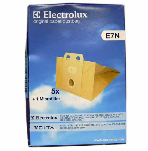 9001959536 - Мешки бумажные E7N 5шт+ 1микофильтр