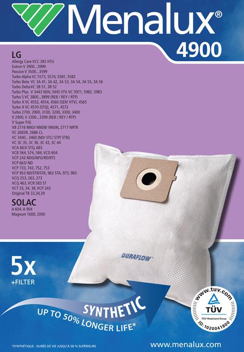 9001961334 - Мешки - пылесборники 4900
