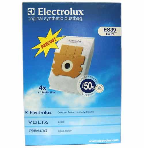 9002565431 - Мешки бумажные E39N (4шт.+1 EF16 mf) к пылесосам Electrolux