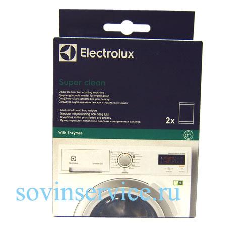 9029797256 - Набор для чистки стиральных машин - E6WMI101 (2 пакета  по 50 г)